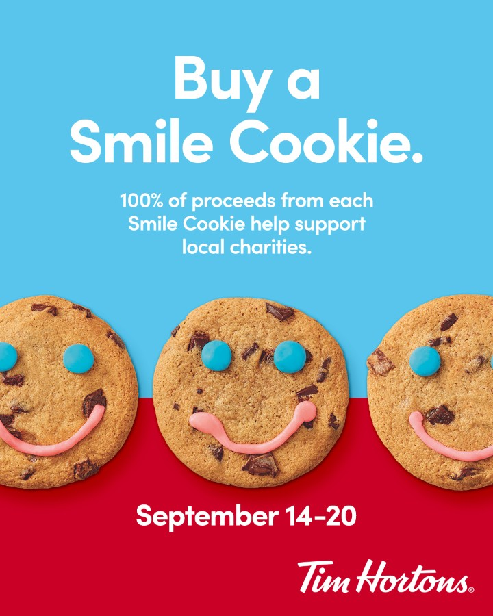 Smile Cookie Days September 14-20